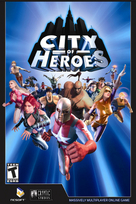 City of heroes box art