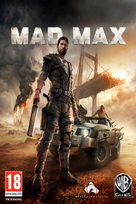 Mad max game box art