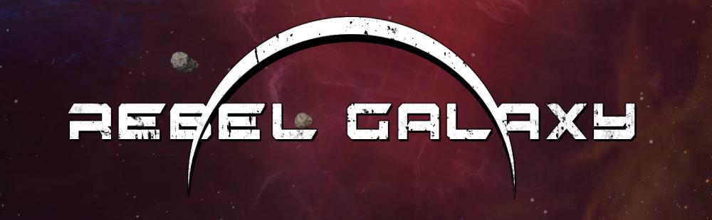 Rebel galaxy game logo