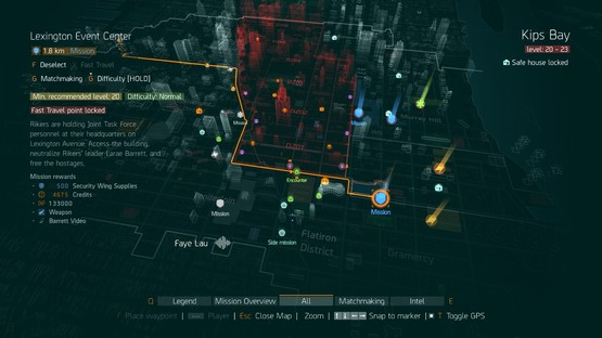 Map division