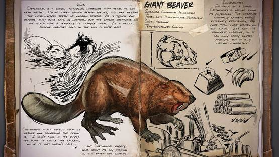 Ark survival evolved giant beaver 5 0